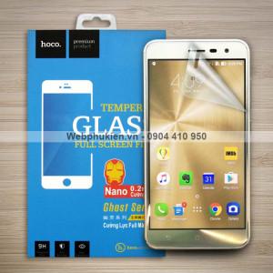 Miếng dán màn hình Asus Zenfone 3 5.5 inch ZE552KL hiệu Hoco Nano siêu dẻo
