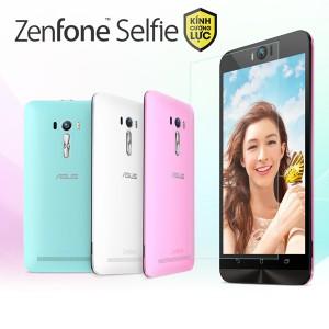 Miếng dán kính cường lực Asus Zenfone Selfie (trong suốt)