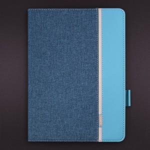 Bao da iPad Gen 6 / iPad 9.7 2018 vân vải hiệu Kaku Popular (xanh Ngọc)