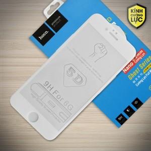 Miếng dán cường lực iPhone 6 / 6S loại 5D hiệu HOCO Full (Trắng)