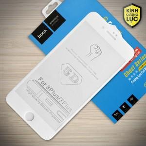 Miếng dán cường lực iPhone 7 Plus loại 5D hiệu HOCO Full (Trắng)