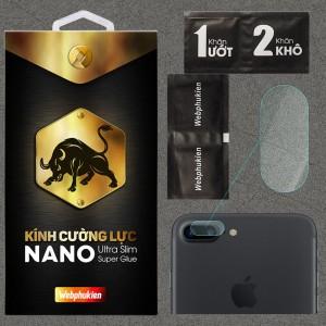 Kính dán cường lực Camera iPhone 7 Plus chính hãng Web Phụ Kiện