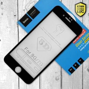 Miếng dán cường lực iPhone 7 loại 5D hiệu HOCO Full (Đen)
