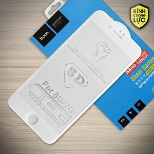 Miếng dán cường lực iPhone 7 loại 5D hiệu HOCO Full (Trắng)