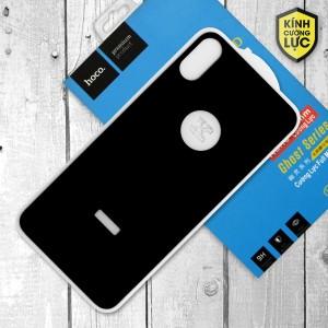 Miếng dán cường lực iPhone X mặt sau loại 5D hiệu HOCO Full (Đen)