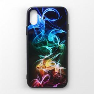 Ốp lưng iPhone X vân nổi 3D (mẫu 4)