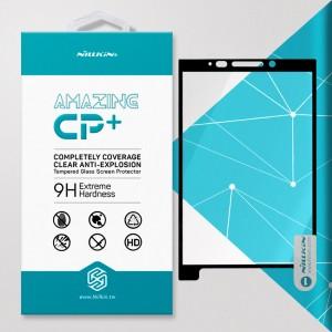 Miếng dán cường lực Blackberry Key 2 - Key Two hiệu Nillkin Full Viền (Đen)