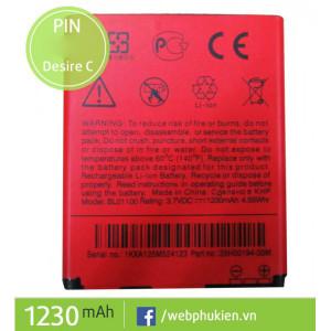 Pin HTC BL01100 - 1230mAh (Desire C, G26, Desire 200, 120E)