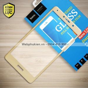 Miếng dán cường lực Huawei GR5 2017 hiệu HOCO Full màn hình (Vàng)