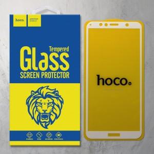Miếng dán cường lực Huawei Honor 7A Y6 PRIME 2018 hiệu HOCO Full màn hình (Trắng)
