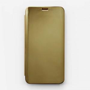 Bao da Honor 7C Clear View tráng gương (Vàng)