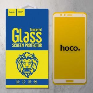 Miếng dán cường lực Huawei Honor 7X hiệu HOCO Full màn hình (Trắng)