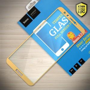 Miếng dán cường lực Huawei Honor 9 Lite hiệu HOCO Full màn hình (Vàng)