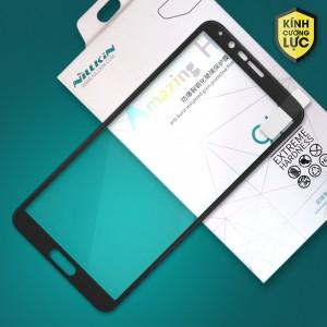 Miếng dán cường lực Huawei Honor V10 hiệu Nillkin Full màn hình (Đen)