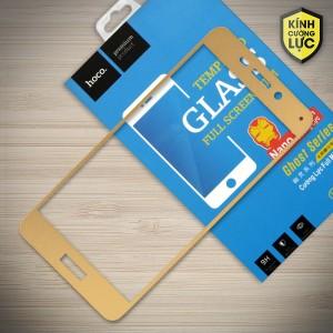 Miếng dán cường lực Huawei Honor V9 Play hiệu HOCO Full màn hình (Vàng)