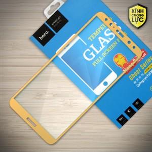 Miếng dán cường lực Huawei Mate 10 Lite hiệu HOCO Full màn hình (Vàng)