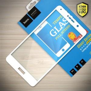 Miếng dán cường lực Huawei Mate 9 Lite hiệu HOCO Full màn hình (Trắng)