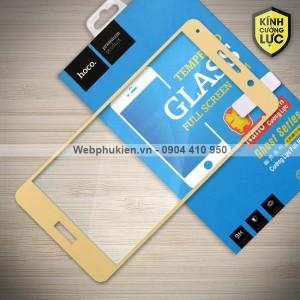 Miếng dán cường lực Huawei Mate 9 Lite hiệu HOCO Full màn hình (Vàng)