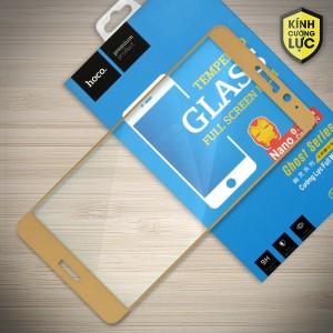 Miếng dán cường lực Huawei Mate 9 hiệu HOCO Full màn hình (Vàng)