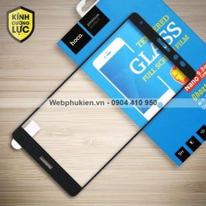 Miếng dán cường lực Huawei Mate 8 hiệu HOCO Full màn hình (Đen)