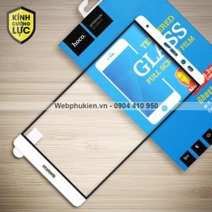 Miếng dán cường lực Huawei Mate 8 hiệu HOCO Full màn hình (Trắng)