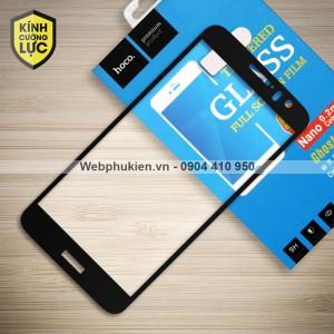 Miếng dán cường lực Huawei Nova 1 Plus hiệu HOCO Full màn hình (Đen)