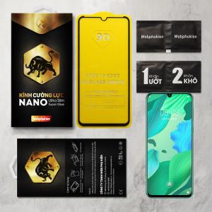Miếng dán cường lực Huawei Nova 5, Nova 5 Pro hiệu Web Phụ Kiện Full (Đen)