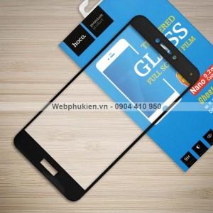 Miếng dán cường lực Huawei P8 Lite 2017 hiệu HOCO Full màn hình (Đen)