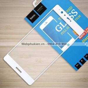 Miếng dán cường lực Huawei P9 Lite hiệu HOCO Full màn hình (Trắng)