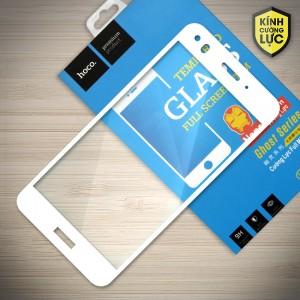 Miếng dán cường lực Huawei P9 Lite Mini hiệu HOCO Full màn hình (Trắng)