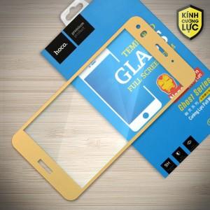Miếng dán cường lực Huawei P9 Lite Mini hiệu HOCO Full màn hình (Vàng)