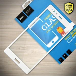 Miếng dán cường lực Huawei P9 Plus hiệu HOCO Full màn hình (Trắng)