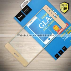 Miếng dán cường lực Huawei P9 Plus hiệu HOCO Full màn hình (Vàng)