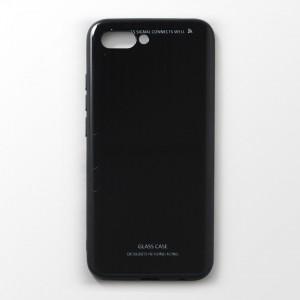 Ốp lưng Huawei Honor 10 tráng gương viền dẻo (Đen)