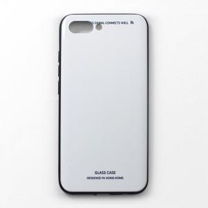 Ốp lưng Huawei Honor 10 tráng gương viền dẻo (Trắng)