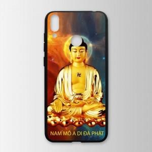Ốp lưng kính in hình tượng phật  cho Huawei Honor 8C (mẫu 10) - Hàng chính hãng
