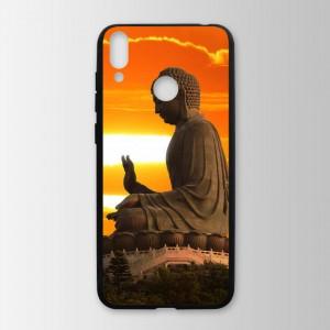 Ốp lưng kính in hình tượng phật cho Huawei Honor 8C (mẫu 14) - Hàng chính hãng