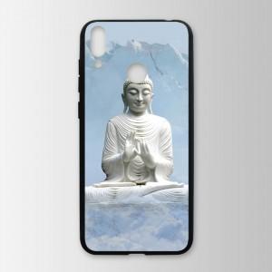 Ốp lưng kính in hình tượng phật cho Huawei Honor 8C (mẫu 15) - Hàng chính hãng