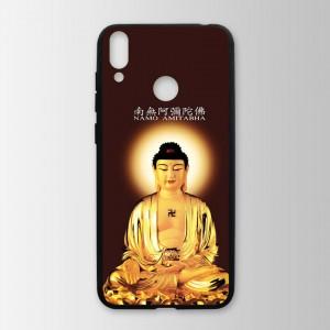 Ốp lưng kính in hình tượng phật cho Huawei Honor 8C (mẫu 21) - Hàng chính hãng