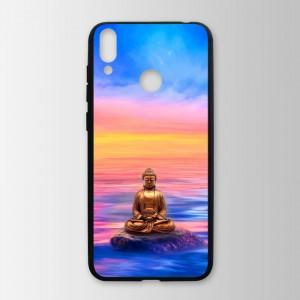 Ốp lưng kính in hình tượng phật  cho Huawei Honor 8C (mẫu 8) - Hàng chính hãng