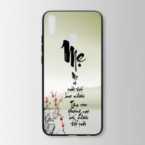 Ốp lưng kính in hình  thư pháp  cho Huawei Honor 8X  (mẫu 40) - Hàng chính hãng