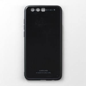 Ốp lưng Huawei Honor 9 tráng gương viền dẻo (Đen)