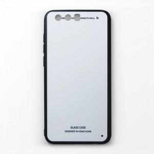 Ốp lưng Huawei Honor 9 tráng gương viền dẻo (Trắng)
