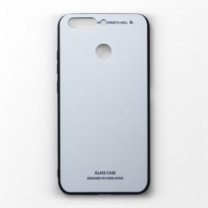 Ốp lưng Huawei Honor V9 tráng gương viền dẻo (Trắng)