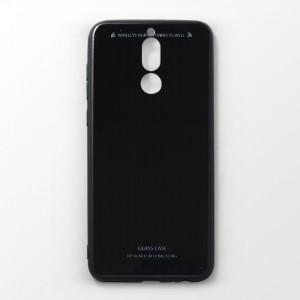 Ốp lưng Huawei Nova 2i tráng gương viền dẻo (Đen)