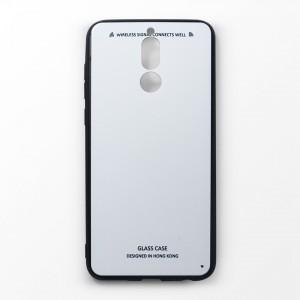 Ốp lưng Huawei Nova 2i tráng gương viền dẻo (Trắng)