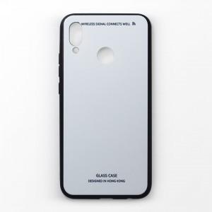 Ốp lưng Huawei Nova 3e tráng gương viền dẻo (Trắng)