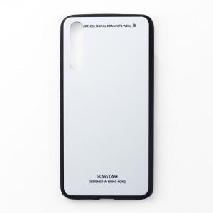 Ốp lưng Huawei P20 Pro tráng gương viền dẻo (Trắng)