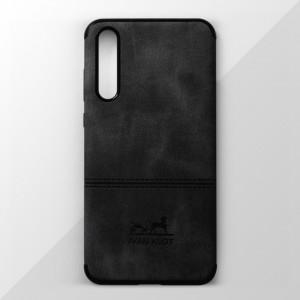 Ốp lưng Huawei P20 Pro vân vải bố Ivan Klot (Đen)