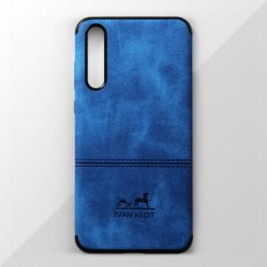 Ốp lưng Huawei P20 Pro vân vải bố Ivan Klot (Xanh)